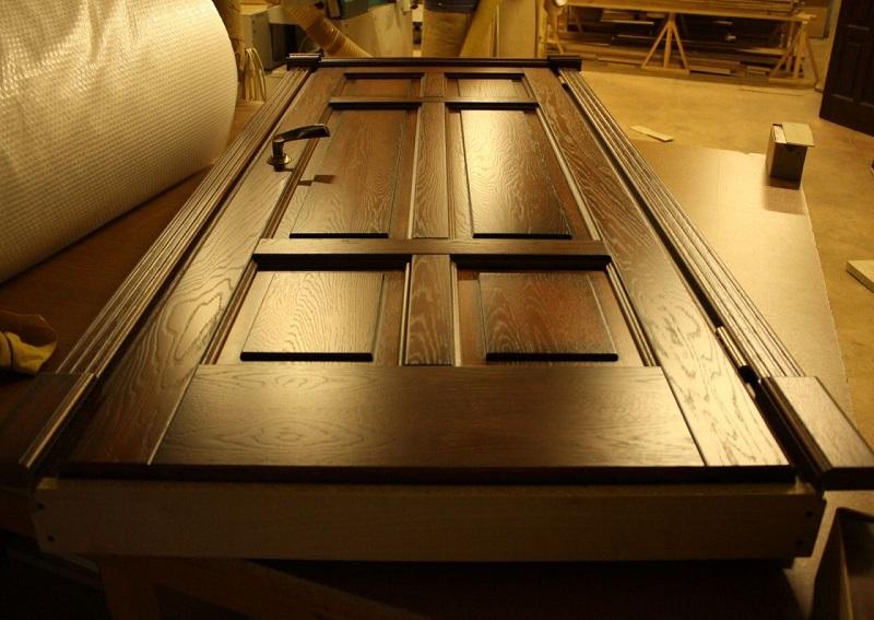 Изготовление дверей в домашних условиях