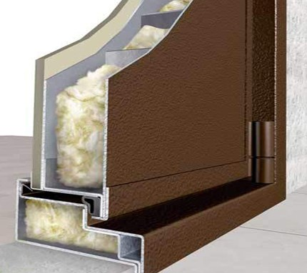 металлические двери с шумоизоляцией и теплоизоляцией