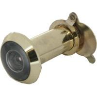 Входная металлическая дверь может быть снабжена средствами обзора. В одних случаях – это старый добрый «глазок», в других – современная система видеонаблюдения.