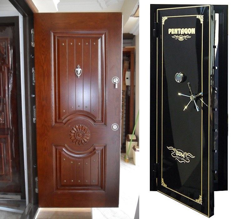 металлическая входная дверь сейфовая шумоизоляция
