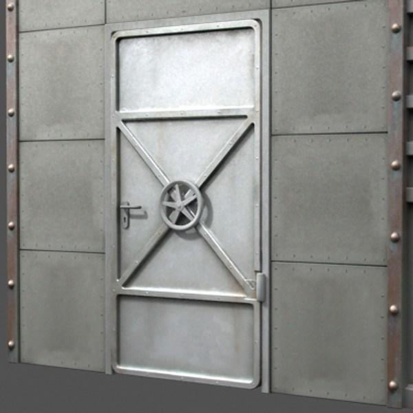 металлические двери сейфовые