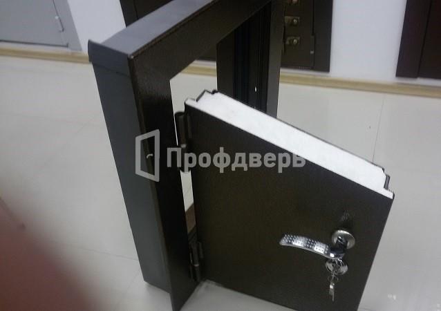 изготовление металлической двери под внутренний проем