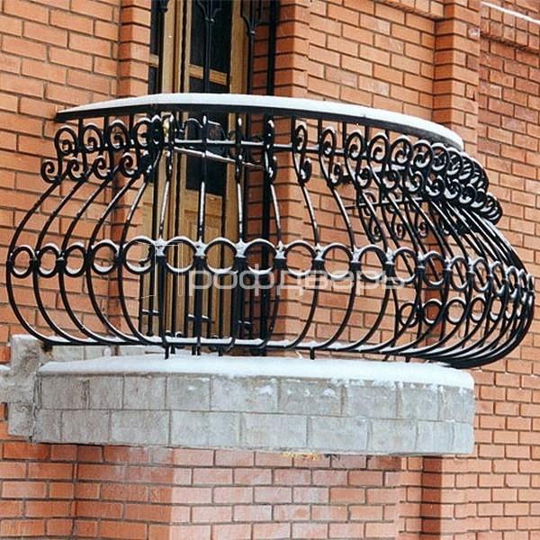 """Кованые балконы мастерская ковки """"коваль""""."""
