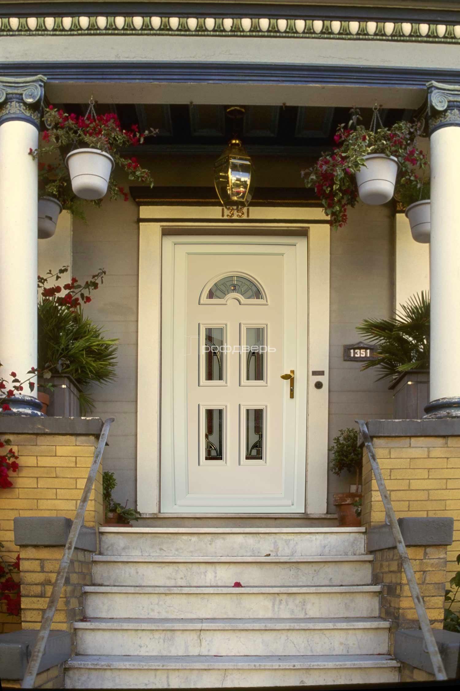 входная дверь для частного дома белая цена