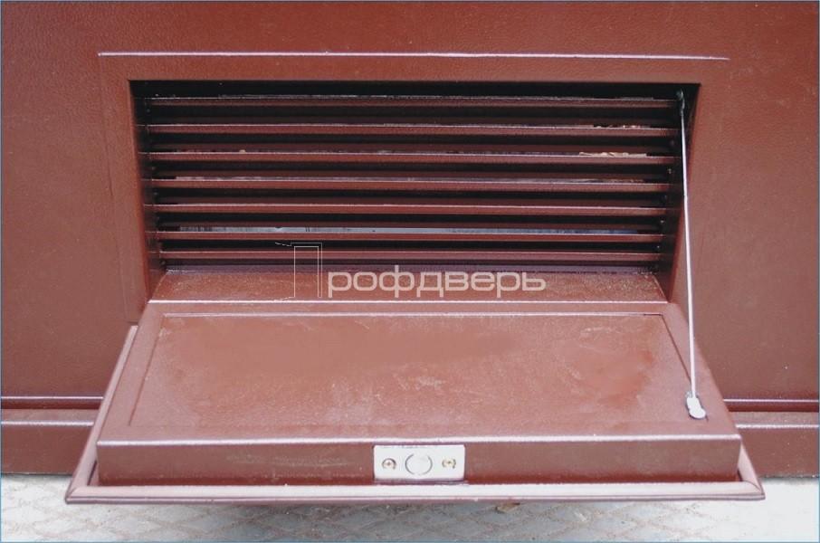 металлические вентиляционные решетки для дверей