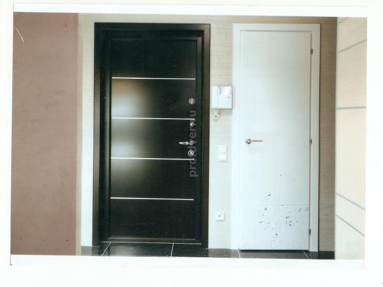 входные металлические двери в квартиру в стиле хайтек