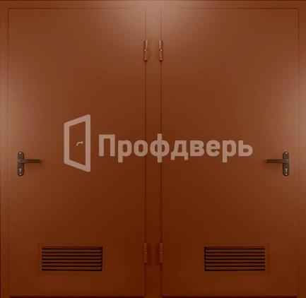 внутренняя стальная техническая дверь