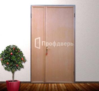 тамбурные металлические двери с одним за