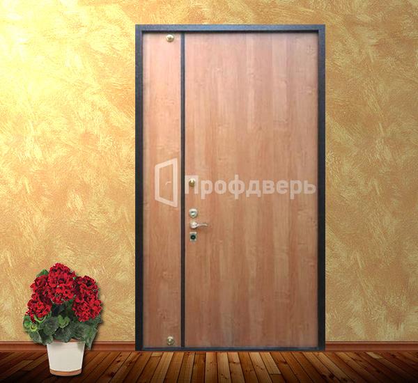 высокая железная дверь в тамбур