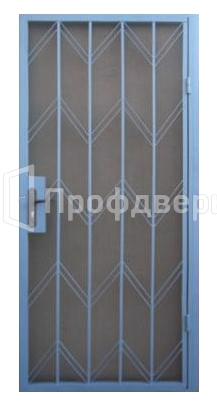металлические решетчатые двери 21 9 цена