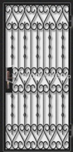 дверь решетка металлическая в кассу