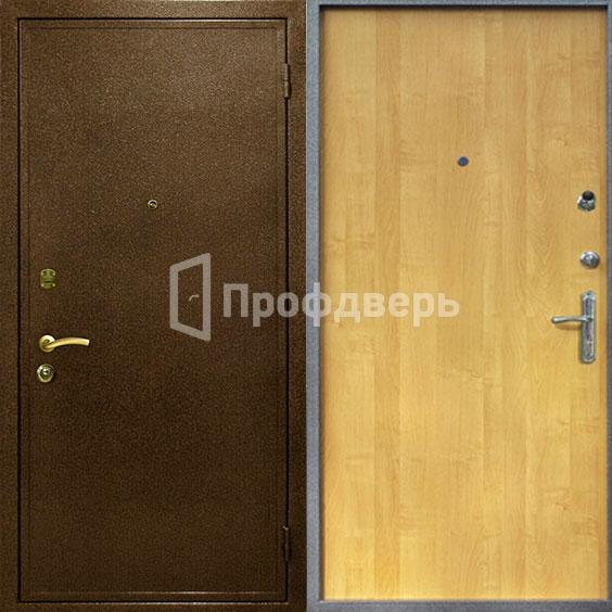 поставить входную дверь в видном