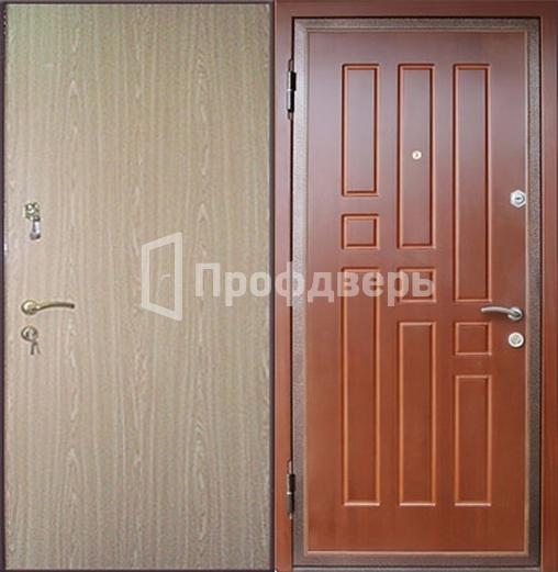 металлическая дверь мдф шпон ламинат