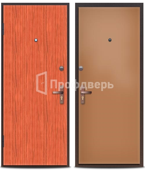 металлические двери с ламинатом москва