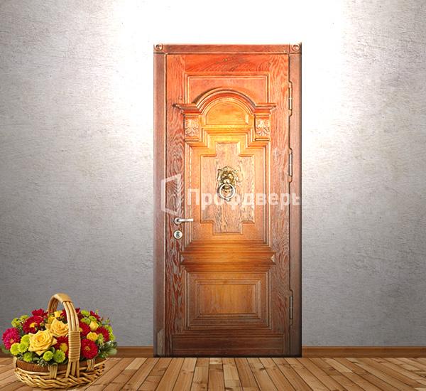 двери стальные парадные в коттедж