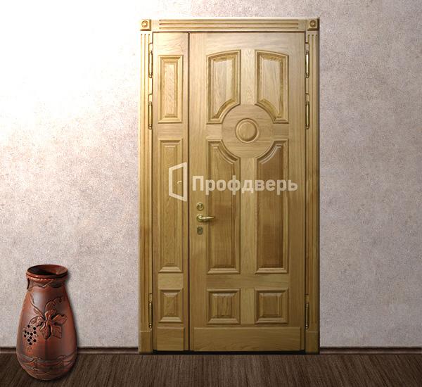 парадные металлические двери в загородный дом