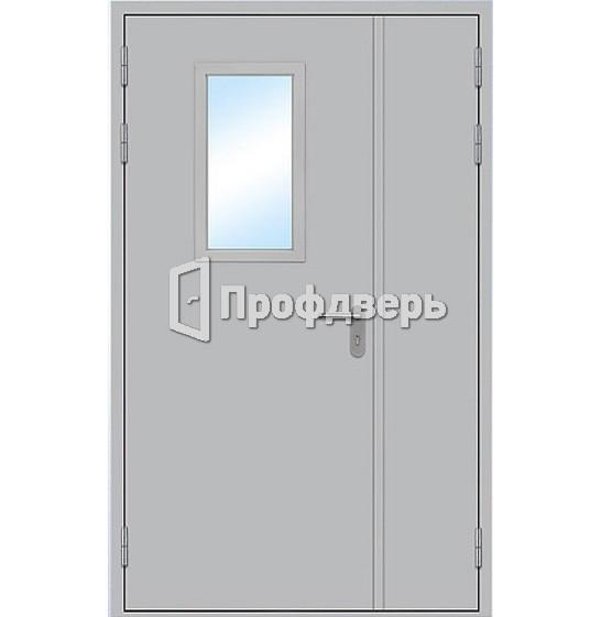 стальная дверь полуторная