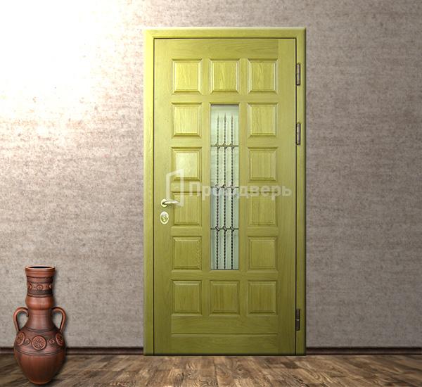 входная парадная дверь в коттедж