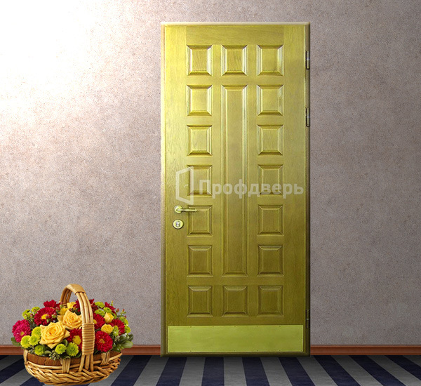 металлическая дверь со стеклом в волоколамске