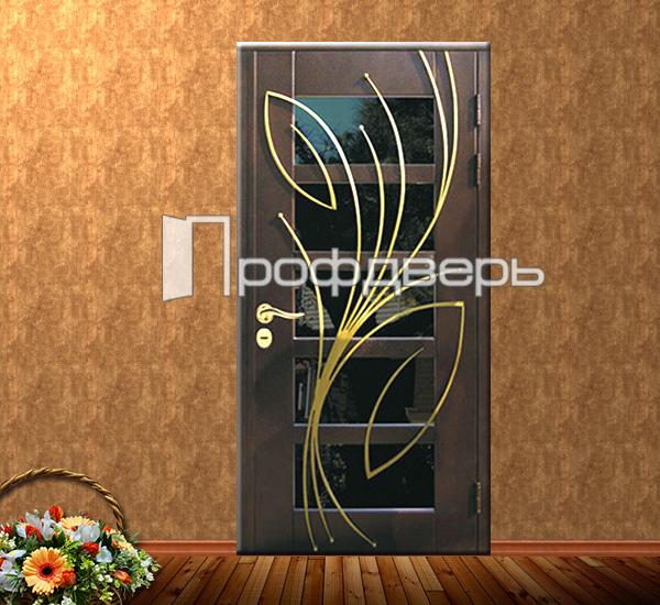 заказать металлическую дверь с зеркалом внутри с установкой