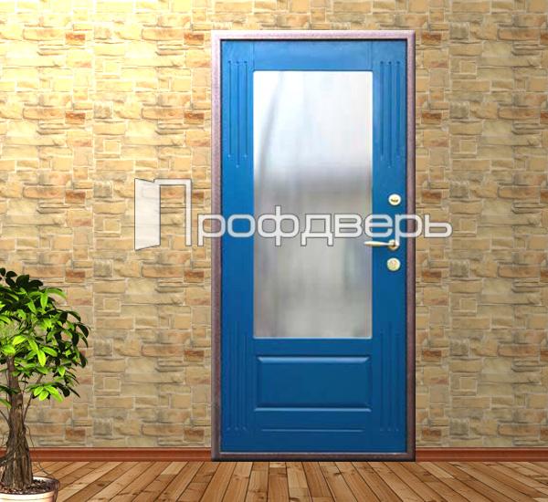 металлические двери с порошковым покрытием зеркалом изнутри