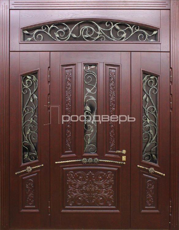 входная дверь для загородного дома в чехове