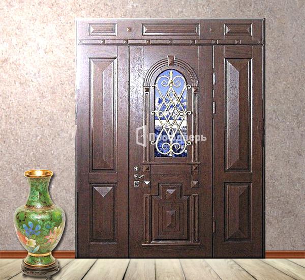 стальные элитные двери коттеджные
