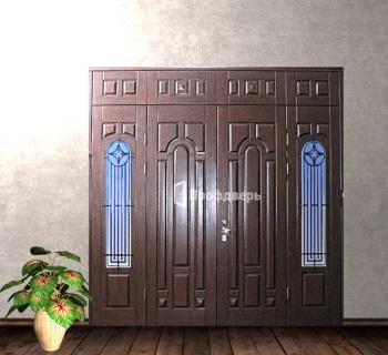 элитные стальные двери в коттедж