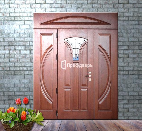 элитные входные парадные двери в коттедж