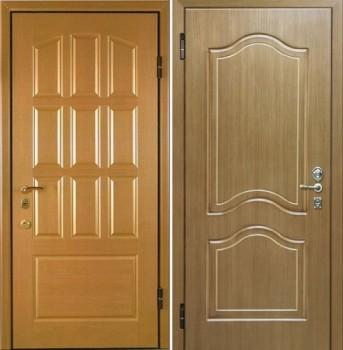 металлические двери с отделкой мдф с двух сторон в москве