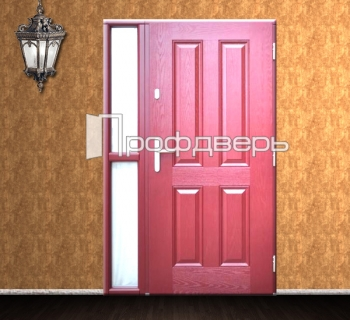 образцы двухстворчатых металлических дверей