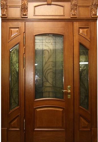 дизайнерские двери элитные металлические образцы