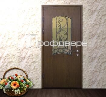 входные двери со стеклом в лобне