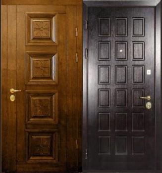 входная дверь с филенками
