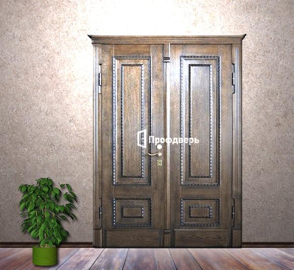 элитные стальные входные двери в коттеджном