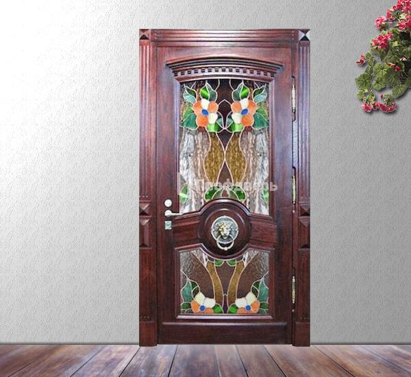 элитные металлические двери в загородный дом